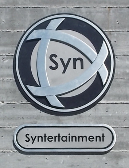 Syntertainment Sign